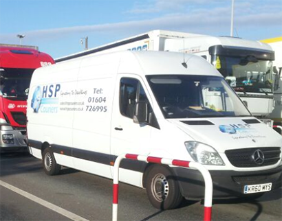 HSP Couriers @ Eurotunnel