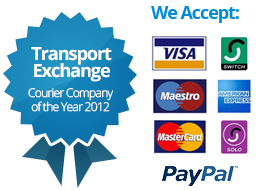 Exchange Courier Company of the year 2012